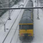 PRAHOVA: Tren Inter Regio, blocat între Sinaia şi Comarnic, din cauza ...