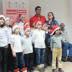 DÂMBOVIŢA: Andrei Plumb a fost din nou mesagerul lui Moș Crăciun pentr...