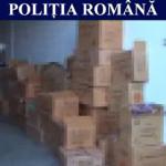 PERCHEZIŢII: Poliţiştii dâmboviţeni au confiscat 100.000 de articole p...