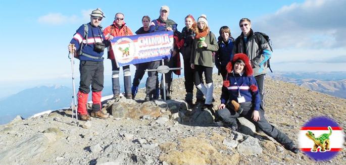 3 ianuarie 2014 – VÂRFUL CAPUL MORARULUI – Munţii Bucegi – 2501 m Dinozauri participanţi: Ionel Glodeanu, Ileana Bocanciu, Nicu Posta, Marius Prundaru
