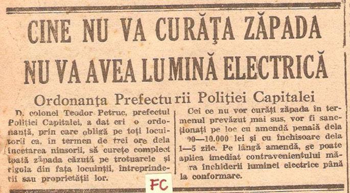Jurnalul de Dimineaţă, duminică - 23 decembrie 1945 (Foto: Facebook)