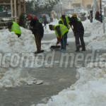 SEMNAL: Trotuarele sunt înzăpezite, iar angajaţii Primăriei Târgovişte...