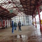 DÂMBOVIŢA: În Gara Târgovişte plouă ca afară! Proiectul de reabilitare...