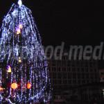DÂMBOVIŢA: S-au aprins luminile de Crăciun la Târgovişte. Vezi ce surp...