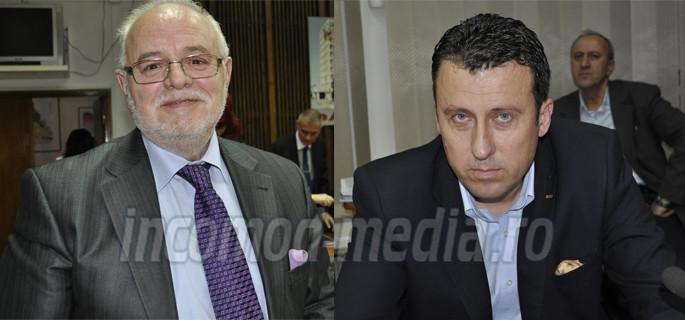 Marin Antonescu (stânga) - Adrian Dumitru (dreapta)