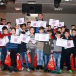 DÂMBOVIŢA: Moş Nicolae i-a vizitat pe juniorii de la Urban Titu