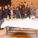 INIŢIATIVĂ: Românii fără adăpost din Madrid au primit sarmale şi cozon...