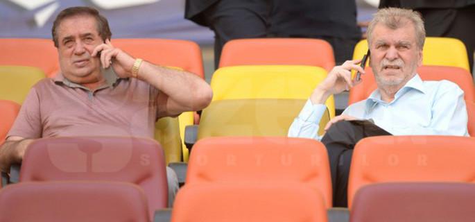 Ioan Niculae (stânga) şi Dinu Gheorghe (dreapta) au colaborat între martie 2012 - noiembrie 2014. FOTO: Gazeta Sporturilor
