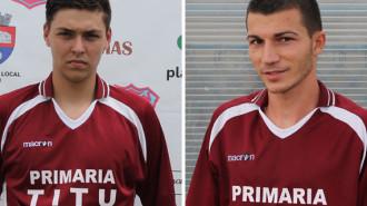 Andrei Stan (stânga) şi Ovidiu Stan (dreapta)