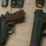 CĂLĂRAŞI: Contrabandă cu arme! Poliţiştii au confiscat mai multe pisto...