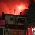 DÂMBOVIŢA: Hotelul Valahia din Moreni a ars noaptea trecută, de la un ...