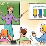 DÂMBOVIŢA: Elevii de clasa a III-a învaţă să recicleze ambalajele, pri...