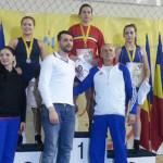 LUPTE: Adina Popescu, campioană naţională la Cluj