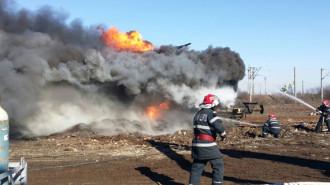 incendiu vagon cisterna 5