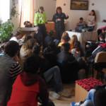 CĂLĂRAŞI: Tinerii instituţionalizaţi au vorbit cu poliţiştii despre in...