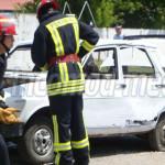 DÂMBOVIŢA: Nu intraţi în panică! Pompierii efectuează două antrenament...