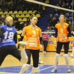 VOLEI: CSM Târgovişte, ciuruită de campioană
