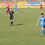 FOTBAL: FCM Târgovişte, învinsă la Roşiori în ultimul minut de joc