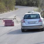 DÂMBOVIŢA: Pericol de prăbușire pe DJ 710A, Pucioasa-Vârfuri!