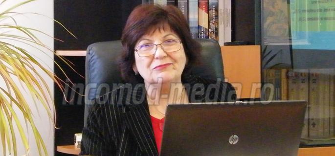 Elena Brezeanu - director executiv Direcția Județeană de Statistică Dâmbovița