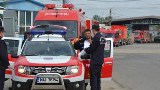 exercitiu pompieri dunare 1