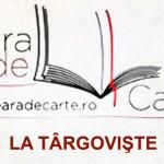 DÂMBOVIŢA: O nouă seară de carte la Biblioteca Judeţeană IH Rădulescu