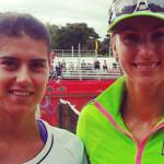 TENIS: Sorana Cîrstea a acces în sferturi la Bogota, la dublu