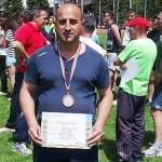 ATLETISM: Jandarm campion! Adrian Berbec, bronz în concursul pe minist...