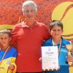 TENIS: Vasile Duţă, finalist de două ori la Circuitul FRT Braşov