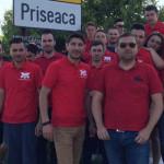 DÂMBOVIŢA: Tinerii UNPR-işti au făcut curăţenie în Cartierul Priseaca