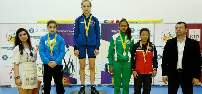 Maria Cioclea a cucerit medalia de argint