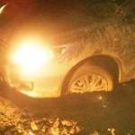 HALAL TURISM! O familie cu doi copii minori s-a blocat cu maşina în no...
