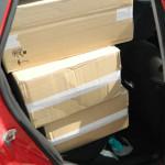 ARGEŞ: Autoturism burduşit cu ţigarete de contrabandă, oprit în trafic...