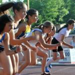 """ATLETISM: Andreea Dinu, """"regina""""  probelor de 50 şi 300 metri"""