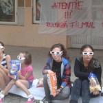 """FLASH MOB: Atenţie, la Giurgiu, rulează filmul """"Un oraş fără cine..."""