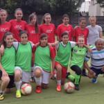 FOTBAL FEMININ: CSŞ Târgovişte, locul 4 la turneul de la Tărlungeni