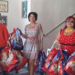 DÂMBOVIŢA: Doamnele social-democrate i-au răsfăţat cu daruri pe copiii...