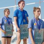 Georgiana Burduf a cucerit titlul mondial la lupte pe plajă