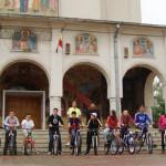DÂMBOVIŢA: Itinerar spiritual pe biciclete pentru elevii de la Colegiu...