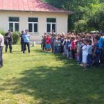 CĂLĂRAŞI: Sfaturi utile şi demonstraţii antitero la Şcoala Vlad Ţepeş