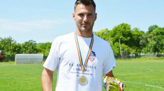 Ionuţ Maican, principalul golgeter al FC Aninoasa