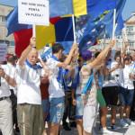 DÂMBOVIŢA: Micul Titulescu, noul Ceauşescu! Miting PNL împotriva premi...
