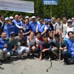 PRAHOVA: Voluntari japonezi şi români, acţiune de ecologizare în Buşte...