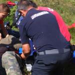 ACCIDENT: Un ATV-ist de 69 de ani s-a făcut praf în Munţii Bucegi!