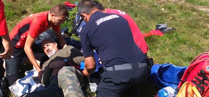 accident ATV Bucegi
