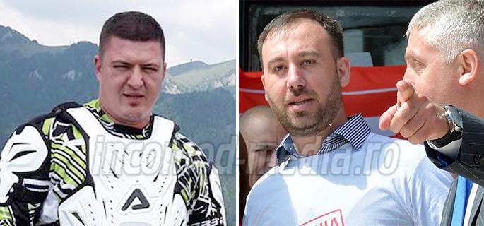 Andrei Albu (stânga) a decis să nu candideze pentru un nou mandat la şefia TSD Târgovişte