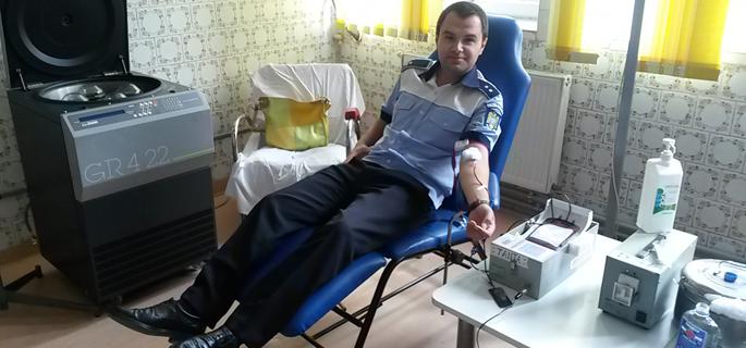 donare sange politisti calarasi 1