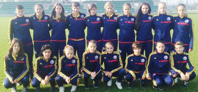echipa nationala fotbal feminin