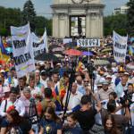 VIDEO: Unioniştii au pornit în marş de la Chişinău la Bucureşti! Va fi...