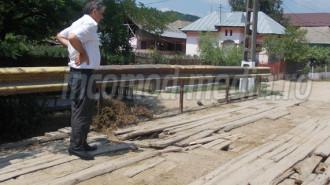 Primarul Laurenţiu Dincă, ultima inspecţie în teren înainte de marea acţiune de voluntariat